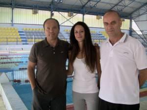 Οι προπονητές της Αγωνιστικής ομάδας της Κ.Ε. Κοζάνης 2015-16 Χάρης Παπαγιάννης, Πέρη Πάντζιου και Χρήστος Κεχαγιάς