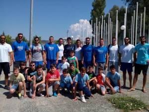 Η ομάδα Μίνι-Παίδων της Κ.Ε. Κοζάνης με την Εθνική Ελλάδος στη Ν. Ιωνία Βόλου, Ιούνιος 2015