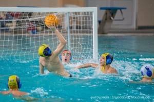 2015-16 Α' Φάση Πρωταθλήματος Παίδων, 16-1-2016, Δελφίνια Πτολεμαϊδας - Κ.Ε. Κοζάνης 1-6
