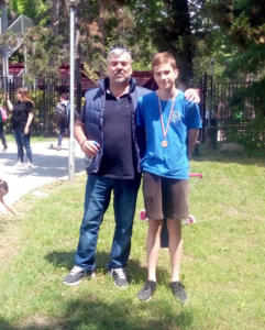 Sandanski Talent Cup 2018 - Χάρης Ευθυμιάδης, Αρίων Ζιάμπρας