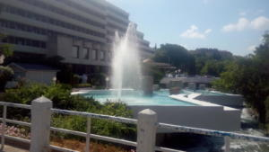 Sandanski Talent Cup 2018 - Ξενοδοχείο δίπλα στην πισίνα