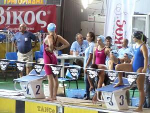 Πανελλήνιο Πρωτάθλημα Παίδων-Κορασίδων-Εφήβων-Νεανίδων 2016 Κ.Ε. Κοζάνης 4Χ100μ Ελεύθερο Κορασίδων
