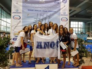 Πανελλήνιο Πρωτάθλημα Παίδων-Κορασίδων-Εφήβων-Νεανίδων 2016 Κ.Ε. Κοζάνης 2η 4Χ100μ Μικτή Ομαδική Κορασίδων